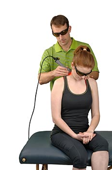 Chiropractic Armstrong IA Laser Treatment for Neck Pain